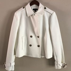 ANN TAYLOR Winter White Coat - 14